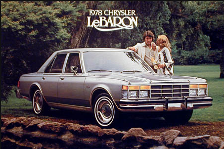 Chrysler LeBaron Medallion