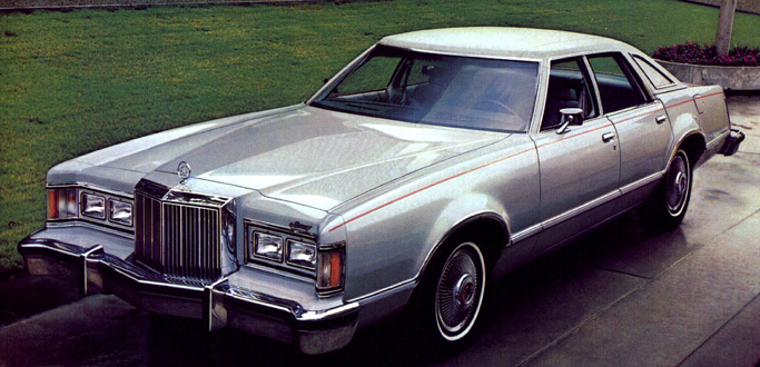 Mercury Cougar Sedan