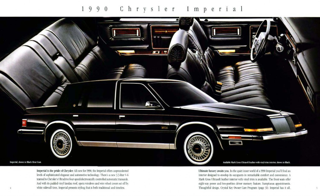The 1990 Auto Brochure Power Quiz The Daily Drive