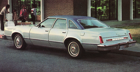 1978 Ford LTD II Brougham, Most Expensive Midsize Sedans