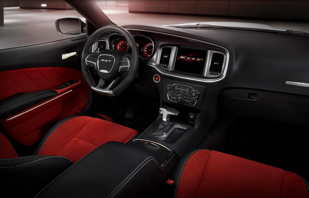 2015 Dodge Charger Hellcat Cabin