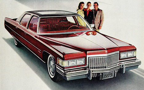1975 Cadillac Fleetwood Sixity Special Brougham