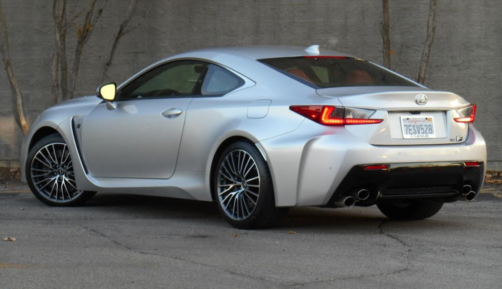 Test Drive: 2015 Lexus RC F | The Daily Drive | Consumer Guide® The ...
