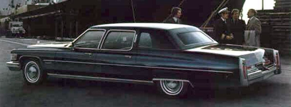 1976 Cadillac Series 75 Limousine