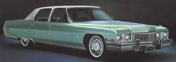 1973 Cadillac Fleetwood Sixty Special Brougham
