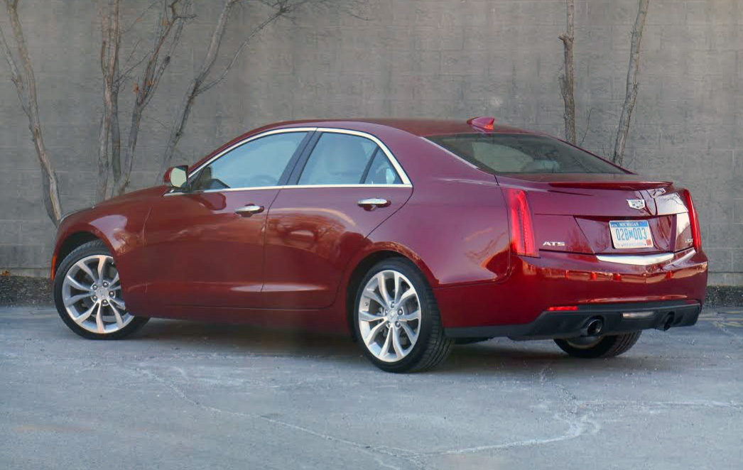 test drive 2015 cadillac ats 2 0t the daily drive consumer guide the daily drive. Black Bedroom Furniture Sets. Home Design Ideas