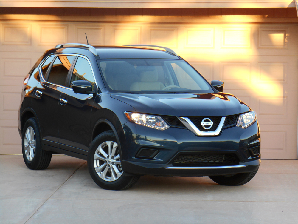 Consumer Guide's test front-drive Nissan Rogue SV listed for $26,940 including destination.