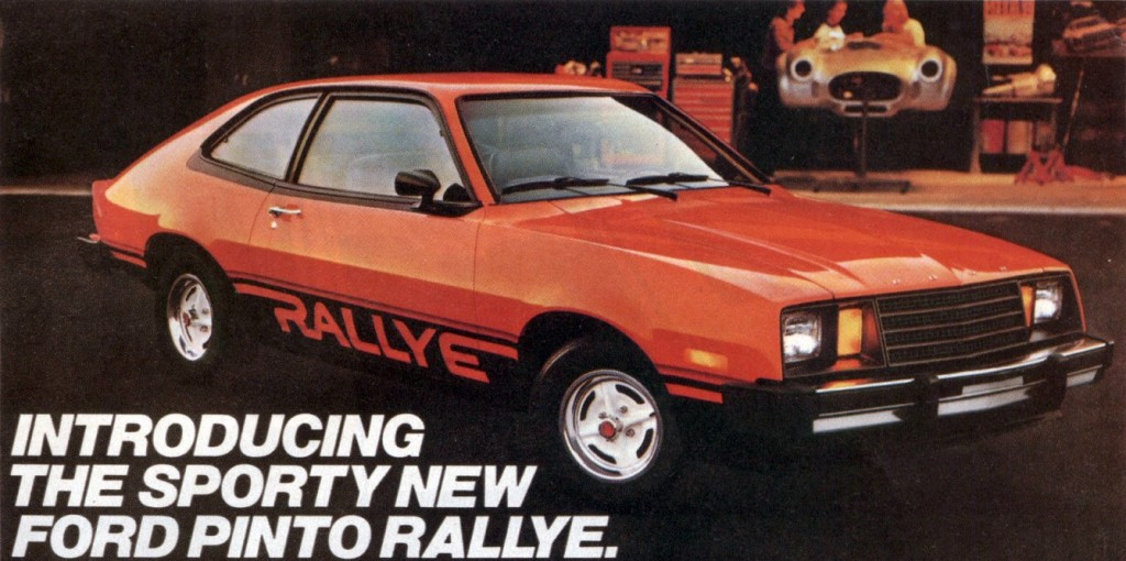 Upwardly mobile ford pinto rallye pack the daily drive 1979 ford pinto rallye sciox Gallery