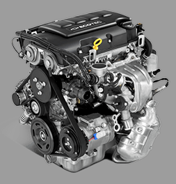 2015 Chevrolet Trax engine