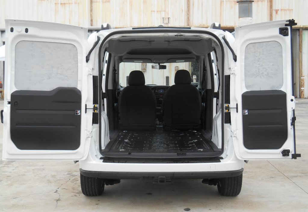 2015 Ram ProMaster City Cargo Area