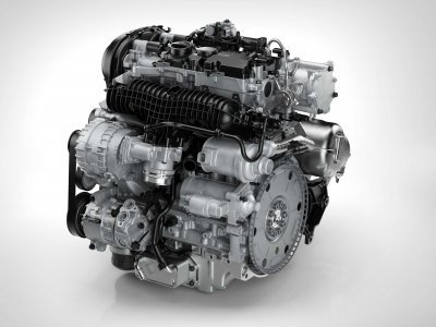 Volvo Drive-E T6 engine