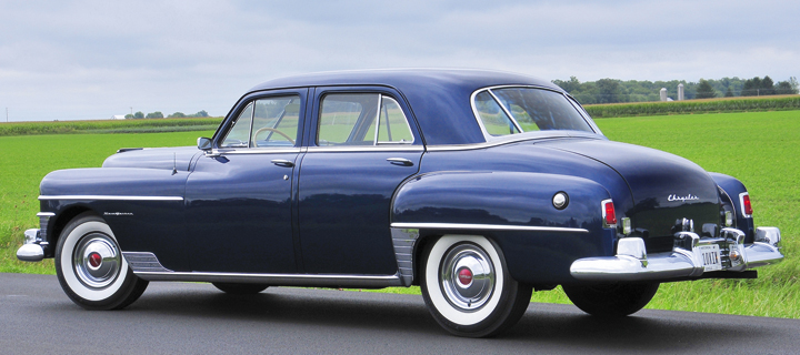 1950 Chrysler New Yorker Four-Door Sedan