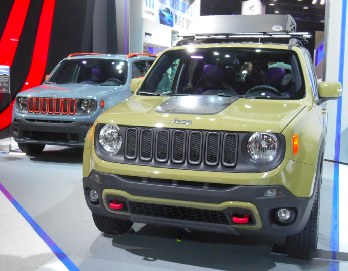 Serious Cute Ute Off Road Ready Jeep Renegade Trailhawk The Daily