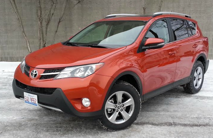 Test Drive 2015 Toyota Rav4 Xle The Daily Drive