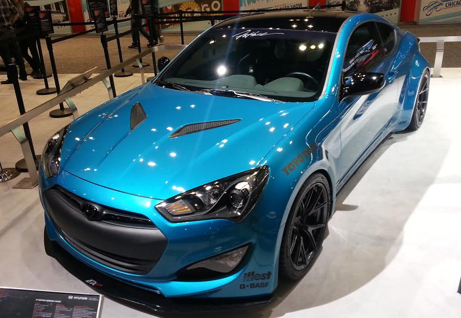 Savoir Flare: Wide-Body Tuner Cars at the 2015 Chicago ...