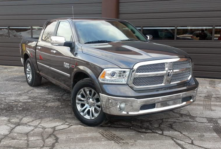 Test Drive 2015 Ram 1500 Laramie Ecodiesel The Daily