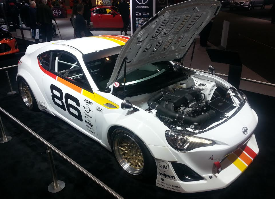 Savoir Flare: Wide-Body Tuner Cars at the 2015 Chicago Auto Show ...