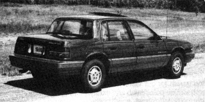 1986 Pontiac Grand Am LE