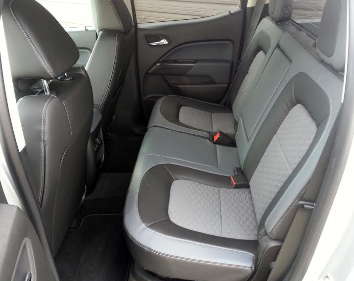 2015 Colorado rear seat