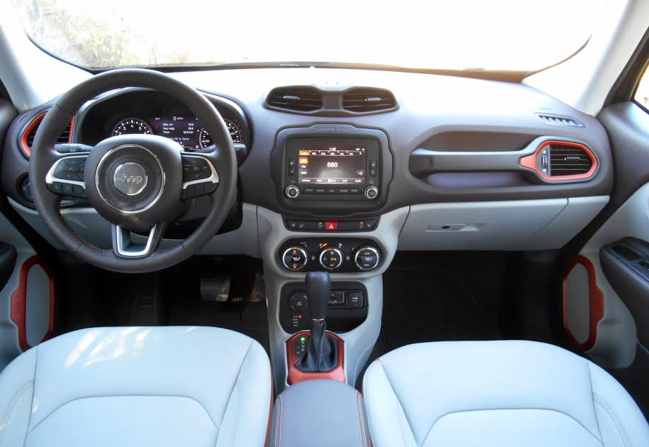 Jeep Renegade Interior Idea