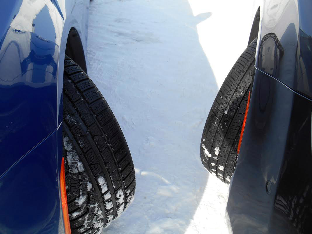 Snow tires versus conventional tires