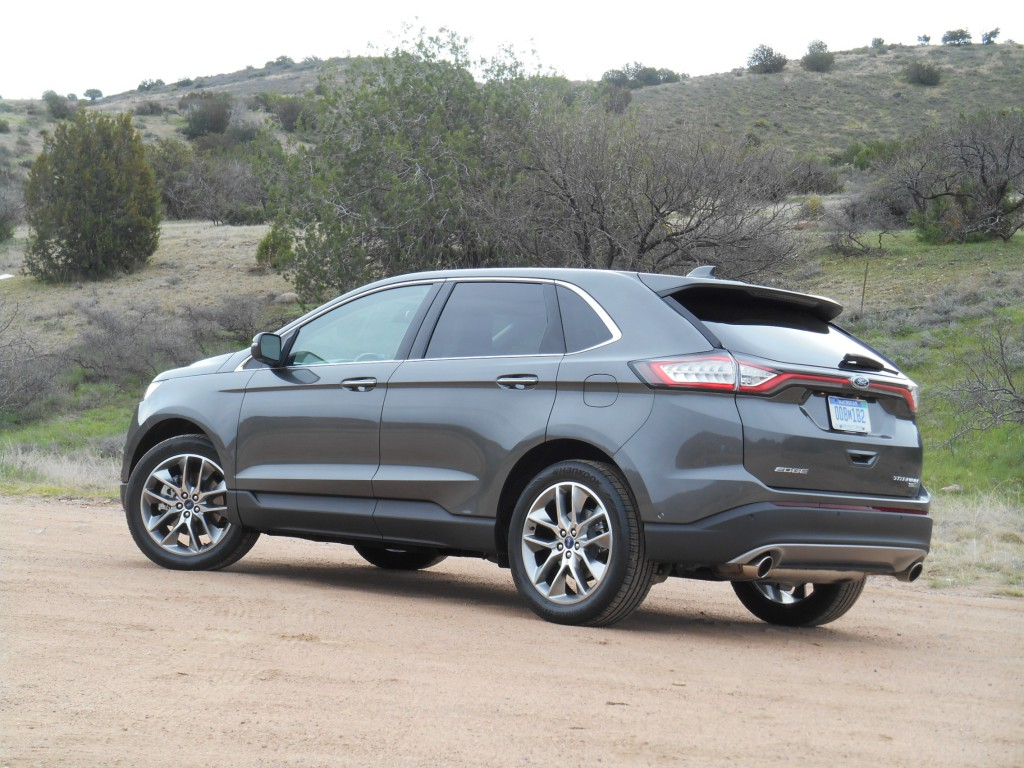 2015 Ford Edge rear