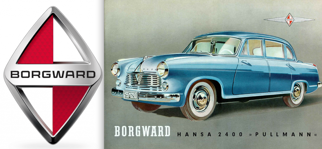 New Borgward logo, Return of Borgward