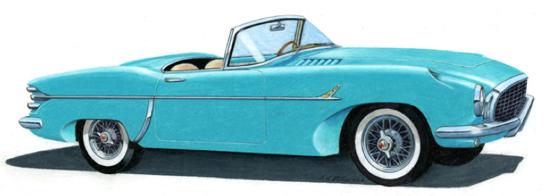 1953 Corvette by Ford