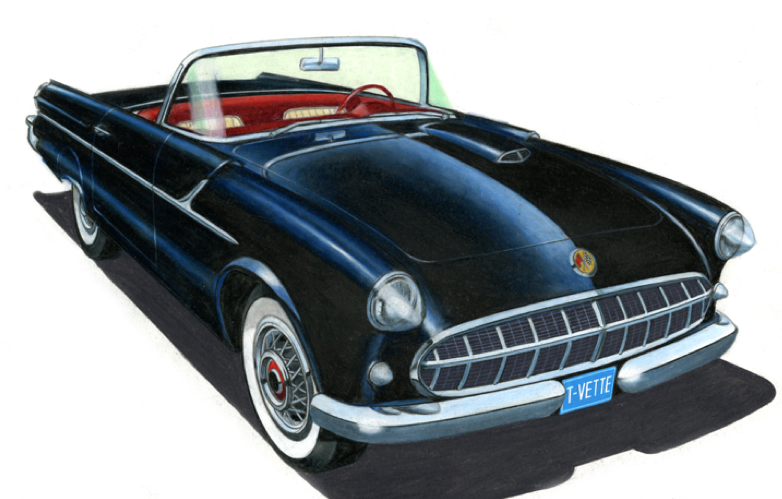 1953 Corvette by Packard