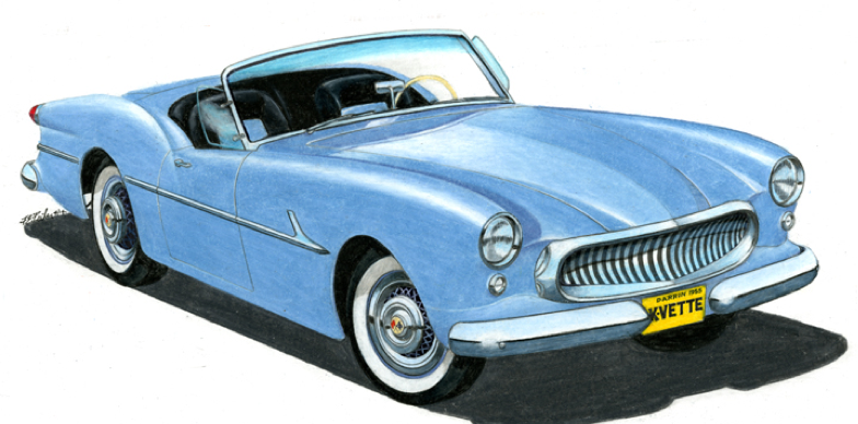 1953 Corvette by Studebaker