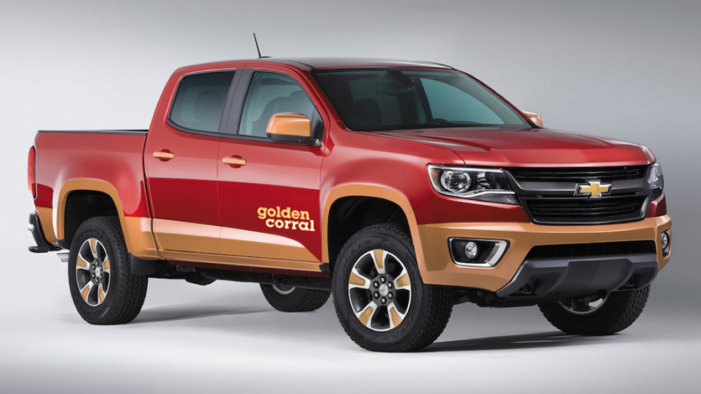 2016 Chevrolet Colorado Golden Corral Edition