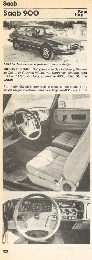 Review Flashback 1984 Saab 900 The Daily Drive Consumer Guide
