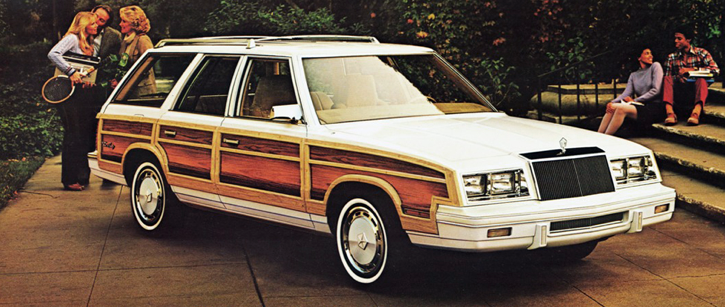 1984 Chrysler Town & Country Wagon
