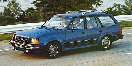 1984 Escort Wagon, Small Wagons of 1984