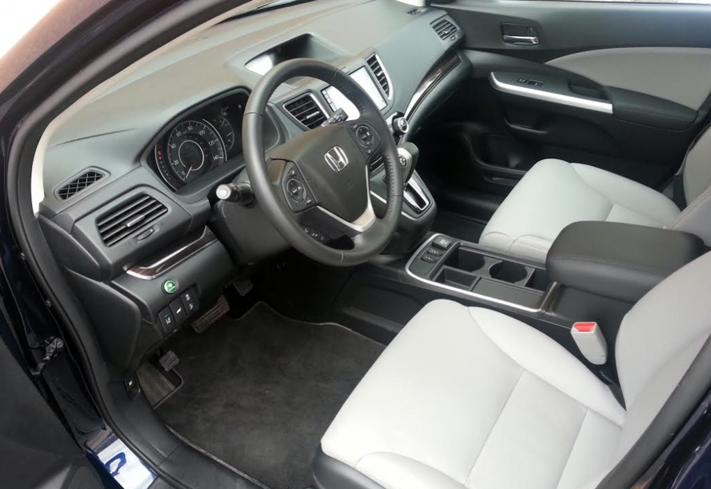 2015 CR-V Touring Interior