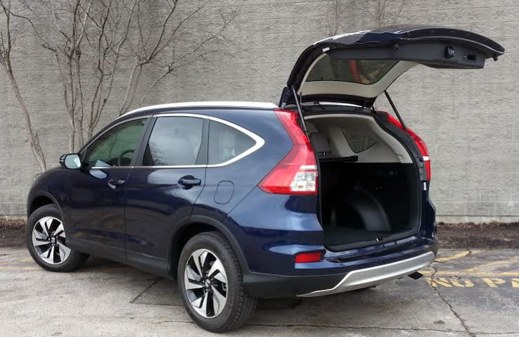Test Drive: 2015 Honda CR-V Touring AWD | The Daily Drive ...