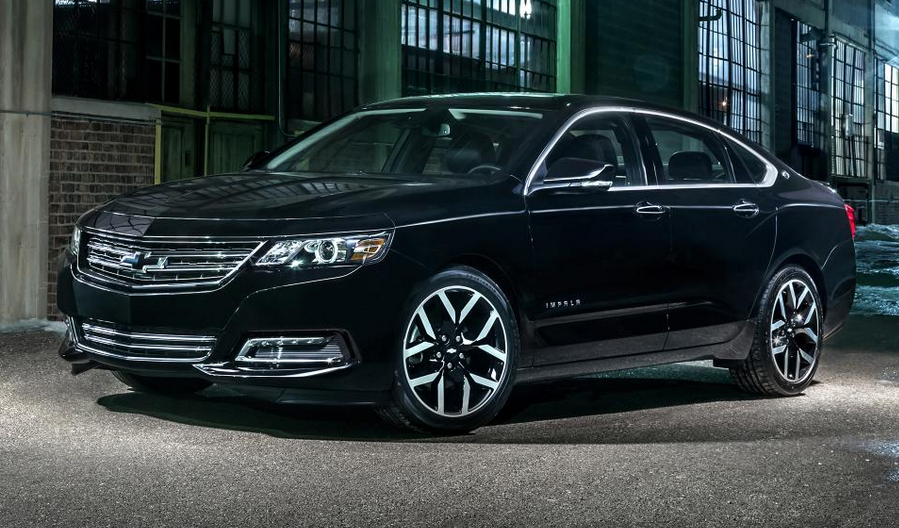 None More Black Chevrolet Rolls Out Impala Midnight Edition The - Black 2015 chevy impala