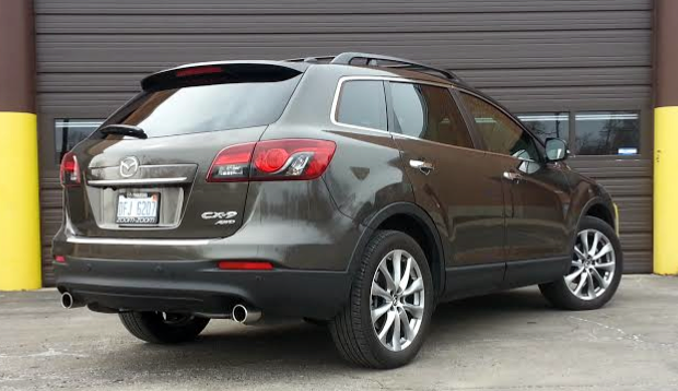 Mazda CX 9. Twenty Inch Wheels Are Standard On Grand Touring Models.