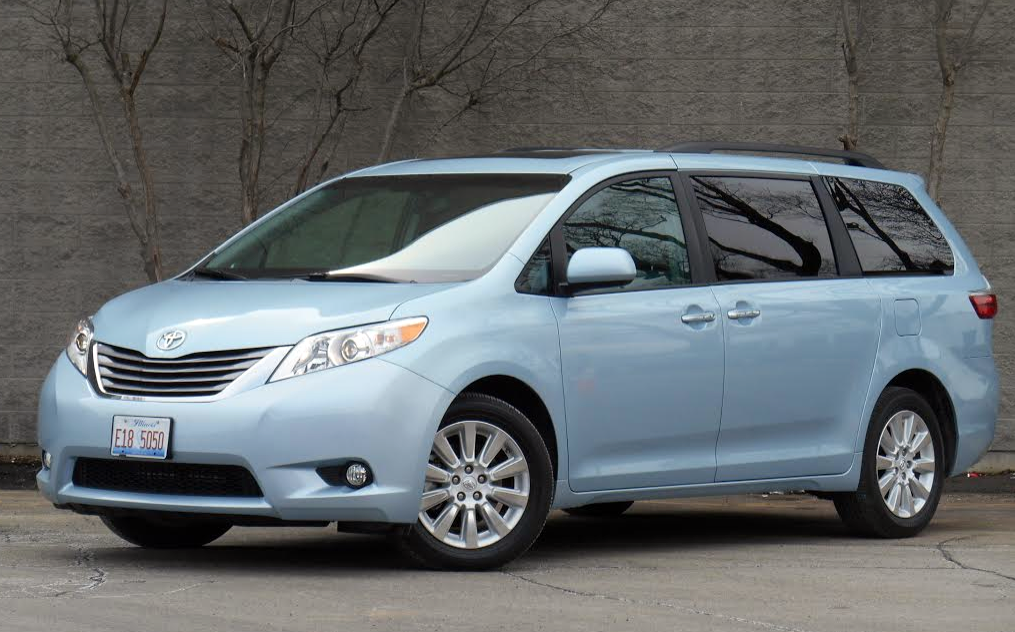 Test Drive: 2015 Toyota Sienna AWD | The Daily Drive ...