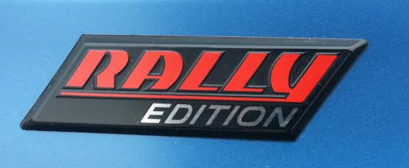 Veloster Turbo Rally Badge