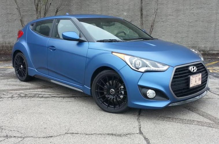 Test Drive: 2016 Hyundai Veloster Turbo Rally Edition | The Daily ...