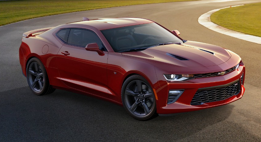 2016 Camaro SS with RS Package