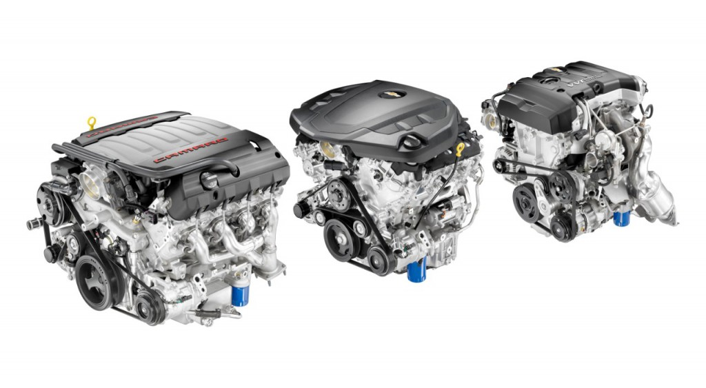 2016 Camaro Engines