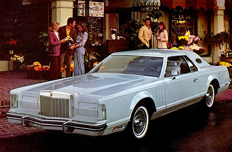 Nicely Suited The Designer Series Lincoln Mark V Models Of 1977