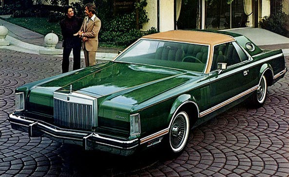 1977 Lincoln Mark V Givenchy Edition