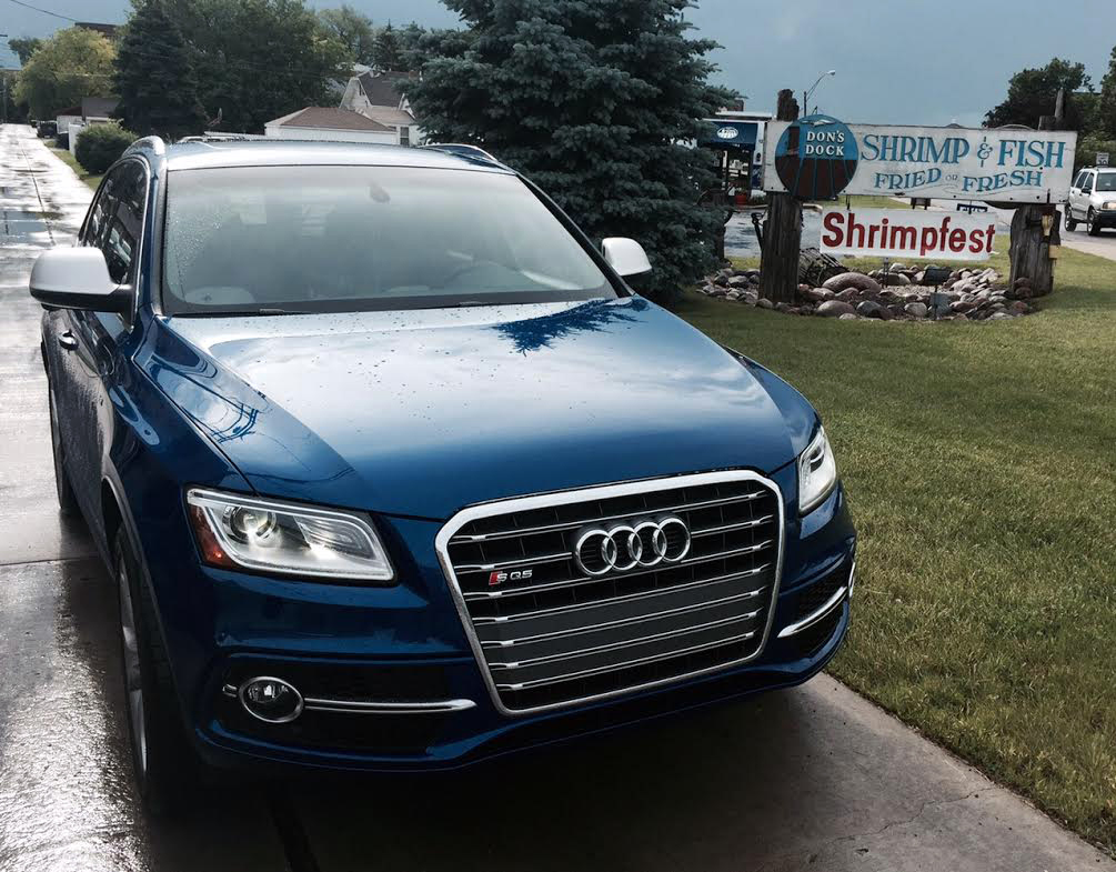 Audi SQ5 at Don's Dock