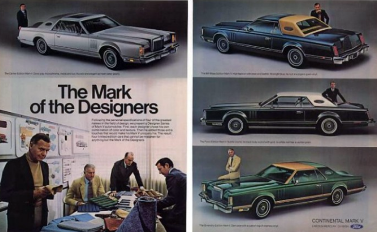 North Brothers Ford >> Nicely Suited: The Designer Series Lincoln Mark V Models of 1977   The Daily Drive   Consumer ...