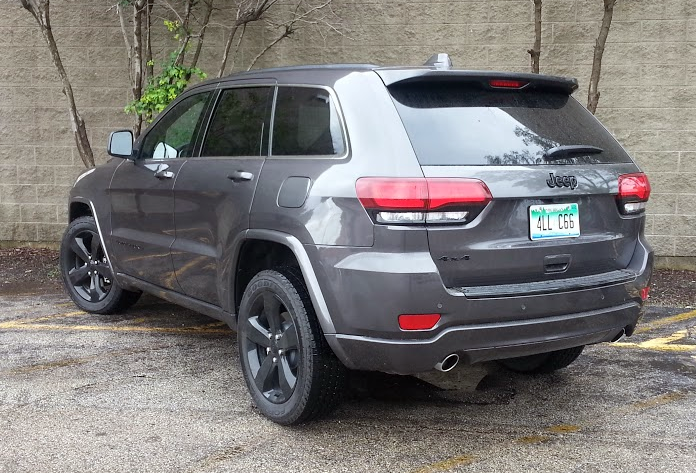 Test Drive 2015 Jeep Grand Cherokee Altitude The Daily