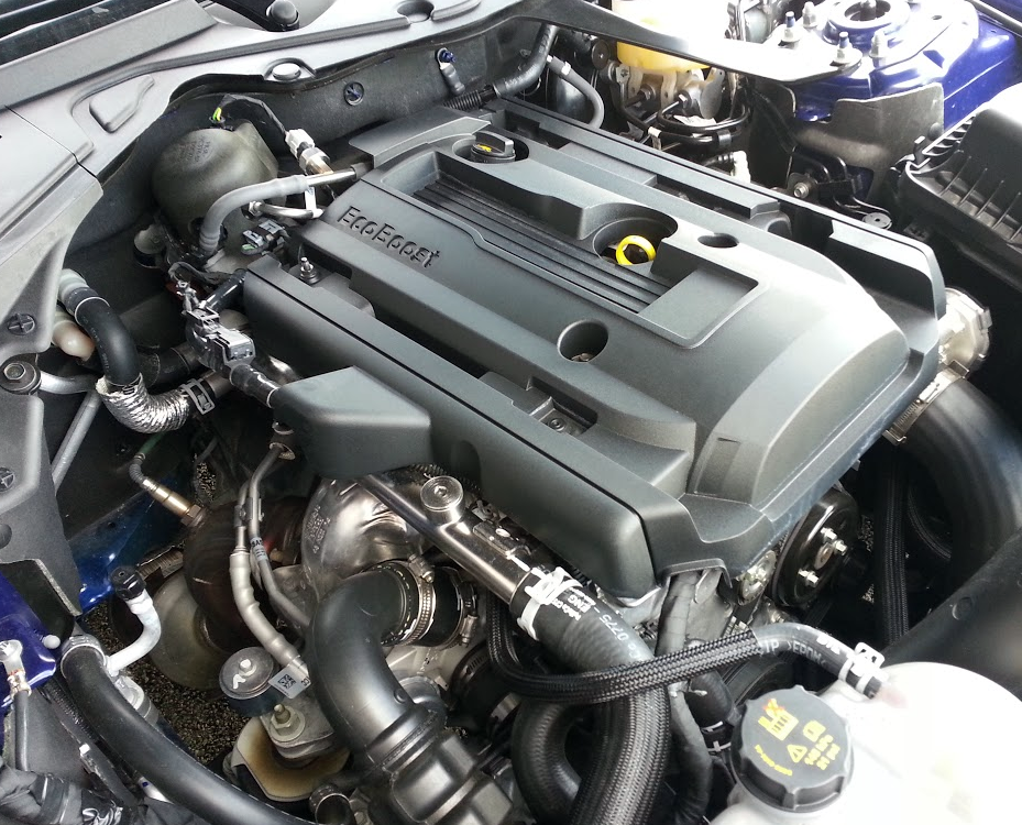 Mustang EcoBoost engine
