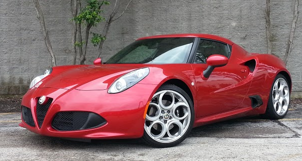 2017 Alfa Romeo 4c At A Starting Price